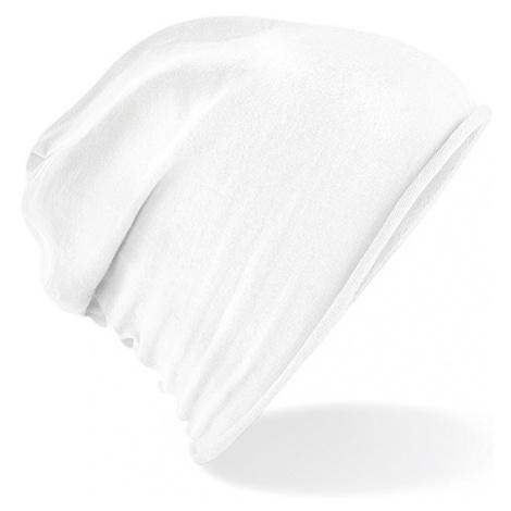 Stylová Jersey čepice - bílá Beechfield