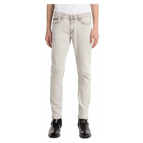 Calvin klein pánské šedé džíny