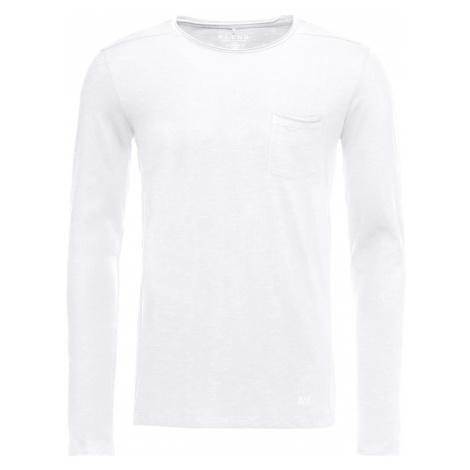 BLEND Tričko bílá