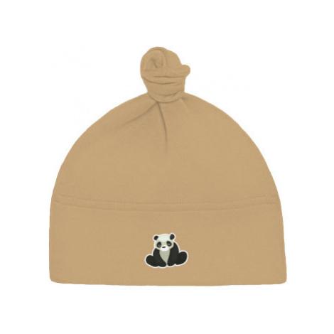 Dětská čepice s uzlem Panda