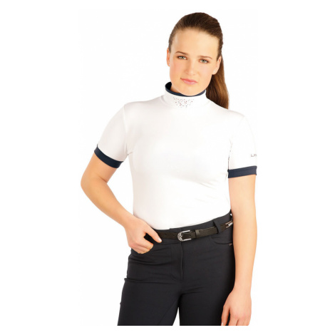 LITEX Triko dámské s krátkým rukávem. J1113100 Bílá