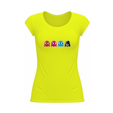 Dámské tričko velký výstřih Pacman Star Wars