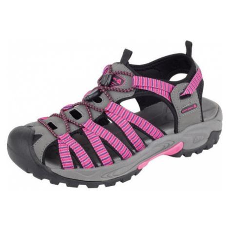 UNI letní obuv Alpine Pro LANCASTER - růžová
