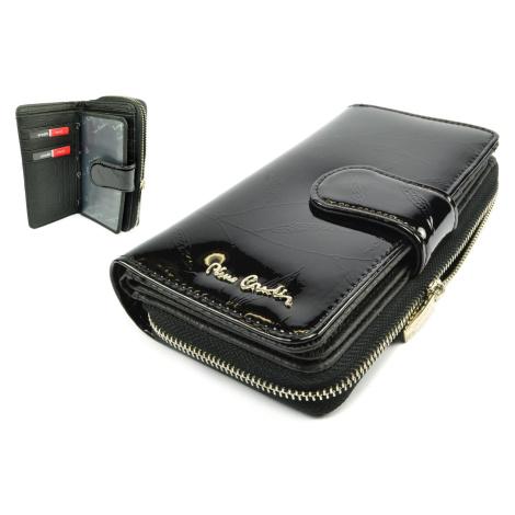 Černá kožená peněženka dámská Pierre Cardin