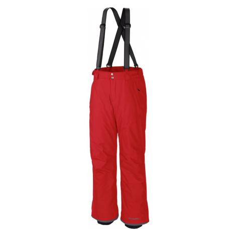 Kalhoty Columbia Bugaboo™ Suspender Pant M - červená S/R