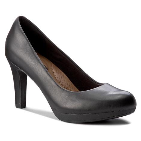 Polobotky CLARKS - Adriel Viola 261293594 Black Leather