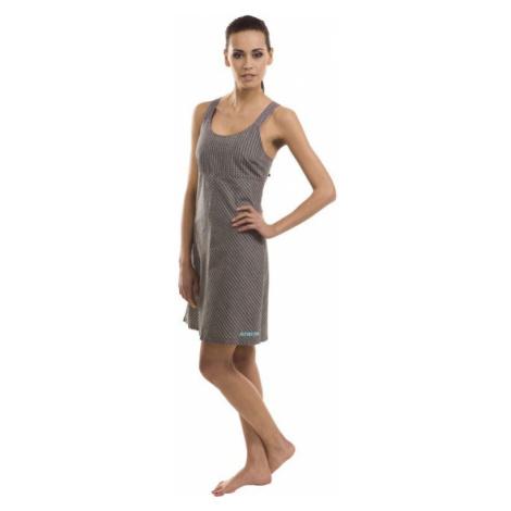 Dámské šaty Alpine Pro LUSON - šedá