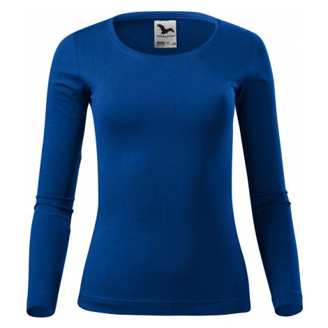 Malfini Fit-t LS Dámské triko dlouhý rukáv 16905 královská modrá