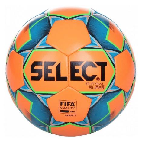 Select Futsal Super oranžovo-modrá, vel. 4