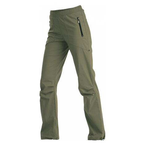 LITEX Kalhoty dámské dlouhé do pasu. 99585610 khaki