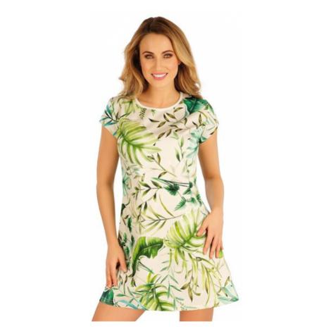 Dámské šaty s krátkým rukávem Litex 5A123 | tisk