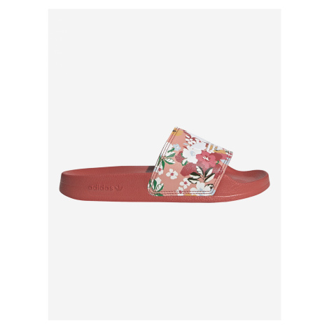 Adilette Lite Pantofle dětské adidas Originals Červená