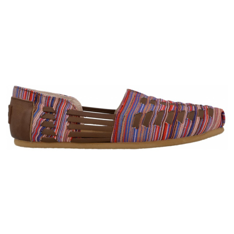Brown Multi Woven Women's Huarache Toms