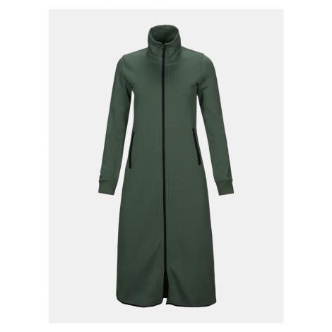 Šaty Peak Performance W Tech Dress - Zelená