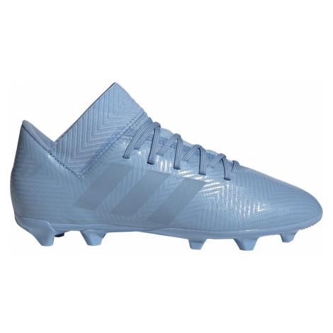 Dětské kopačky Adidas Nemeziz 18.3 FG Světle modrá
