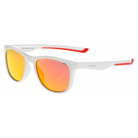 RELAX Vulcano Dětské sluneční brýle R3079B bílá 20L
