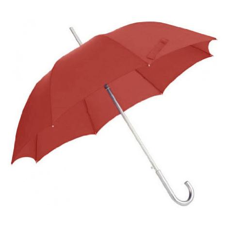 Samsonite deštník Umbrella Alu Drop Stick Lady Auto tomato