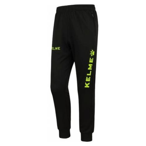 Dětské kalhoty Kelme Long Pant Černá / Žlutá