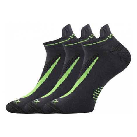 3PACK ponožky VoXX šedé (Rex 10) XL