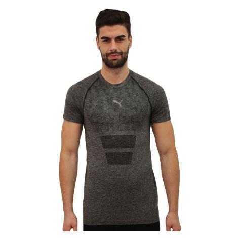 Pánské sportovní tričko Puma tmavě šedé (520135 01)