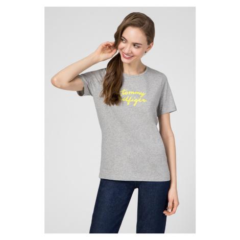 Tommy Hilfiger dámské šedé tričko