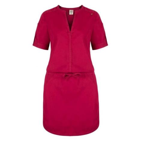 Loap NIVA růžová - Dámské šaty