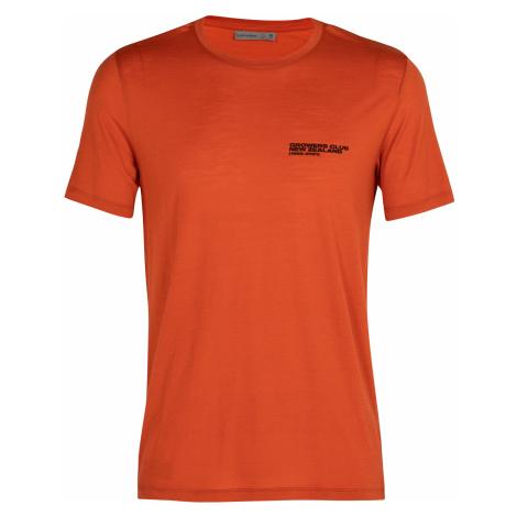 Pánské triko krátký rukáv ICEBREAKER Mens Tech Lite SS Crewe Growers Club, Roote (vzorek) Icebreaker Merino