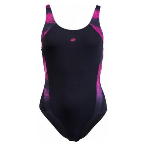 Lotto ALESSIA černá - Dámské jednodílné plavky