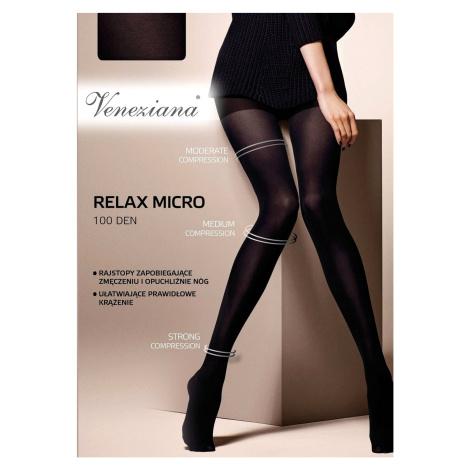 Dámské punčochové kalhoty Veneziana Relax Micro 100 den