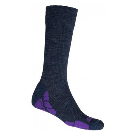 HIKING MERINO Funkční ponožky 20200070 modrá/fialová Sensor