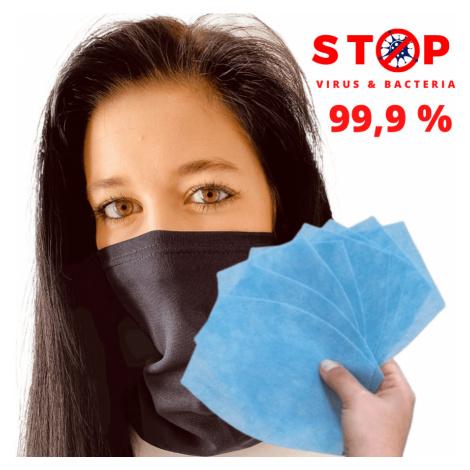 NANO šátek AG-TIVE 3F 99,9% - unisex Modročerná Unisex