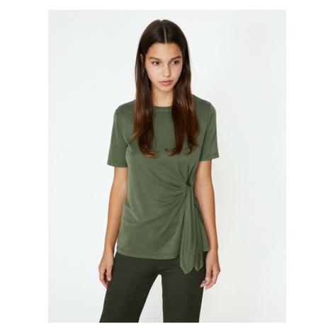 Koton Women's Green T-Shirt
