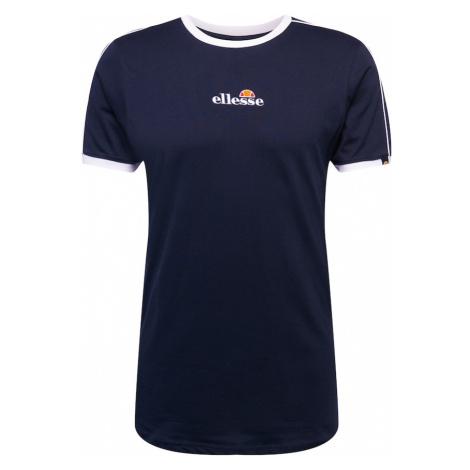 ELLESSE Tričko 'Riesco' námořnická modř / bílá / červená / oranžová