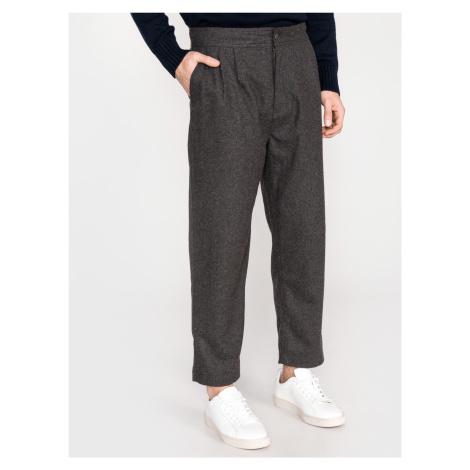 Kalhoty Calvin Klein Šedá