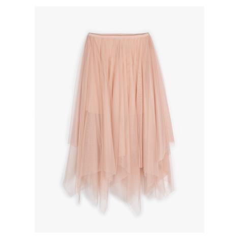 GATE Asymetrická tylová sukně