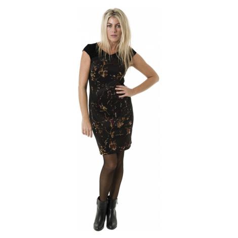 Smash DEVIKA krátké šaty černé Glam&Shine