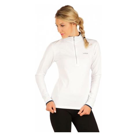 LITEX Tričko dámské s dlouhým rukávem 7A440100 Bílá