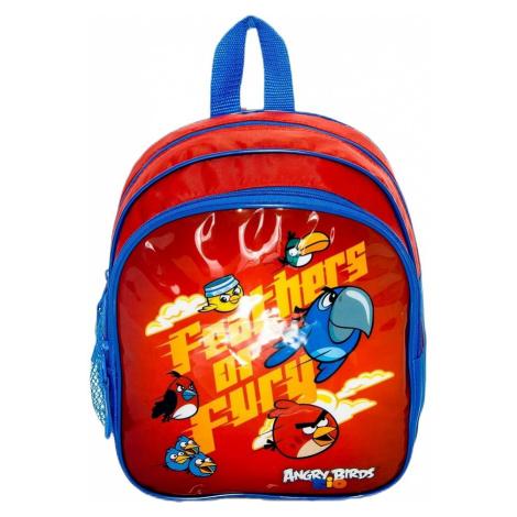 Barevný školní batoh s motivem angry birds BASIC