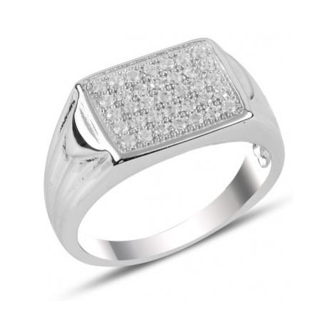 OLIVIE Pánský stříbrný prsten 3731