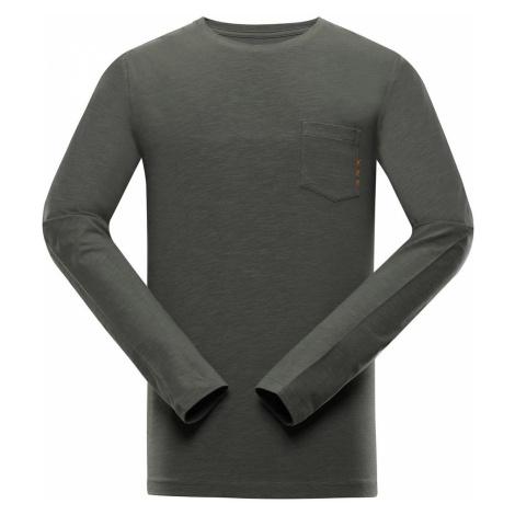 ALPINE PRO MEGAN Pánské triko s dlouhým rukávem MTSS528558 petrol