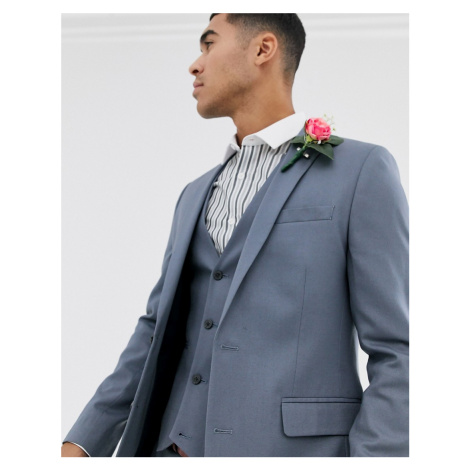 ASOS DESIGN skinny suit jacket in slate grey
