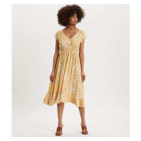 Šaty Odd Molly Adore S/S Dress - Žlutá