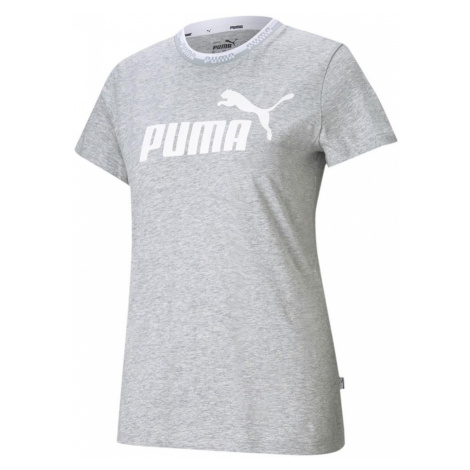Dámské tričko Puma Amplified Graphic Tee Šedá