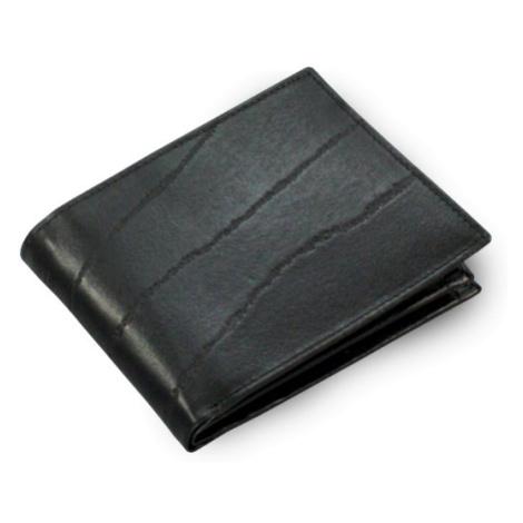 Černá pánská kožená peněženka Giovanni Arwel