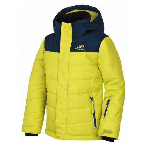Dětská bunda Hannah Kinam JR sulphur spring/majolica mel