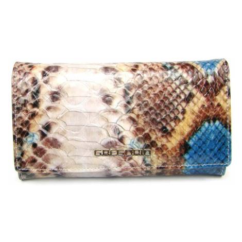 Barevná kožená dámská peněženka GREGORIO