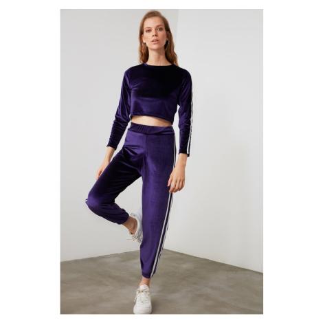 Women's pants Trendyol Velvet