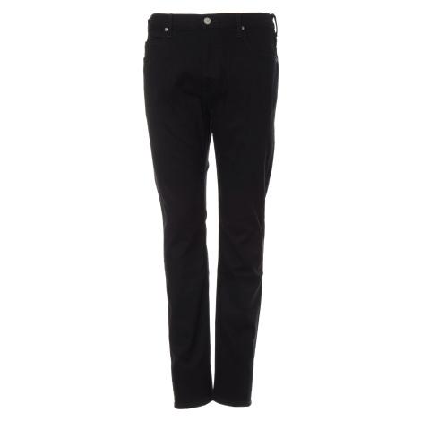 Lee jeans Rider Clean Black pánské černé
