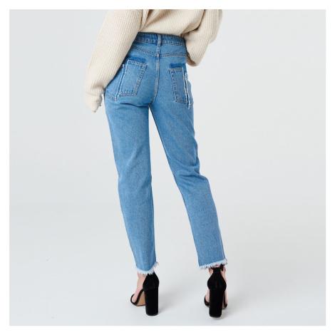 Modré mom džíny NA-KD