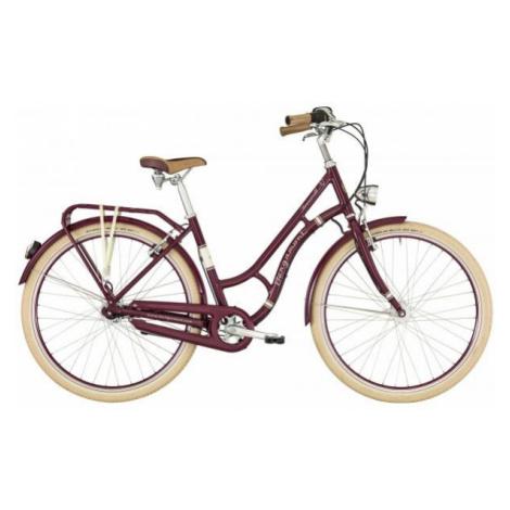 Bergamont SUMMERVILLE N7 FH W fialová - Dámské městské retro kolo